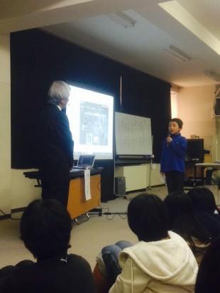 金沢市教育委員会教育長の 野口 弘先生