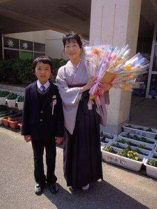 伏見台小学校卒業式